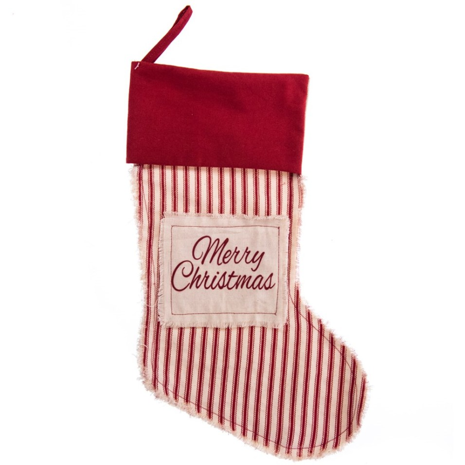 """Merry Christmas"" Stocking"