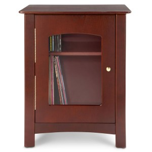 Cherry Bardstown Entertainment Center Cabinet