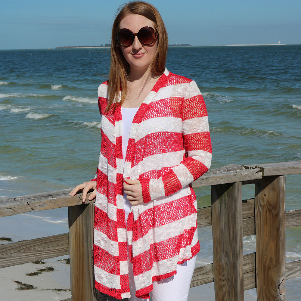 Nautical Cardigan