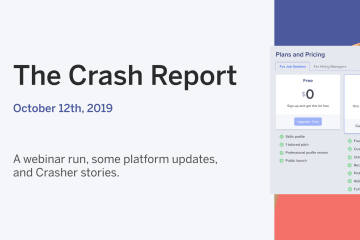 The Crash Report: October 12, 2019