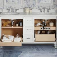 Conquer Your Bathroom Clutter with Tailored Vanity Storage