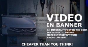 Video inbanner