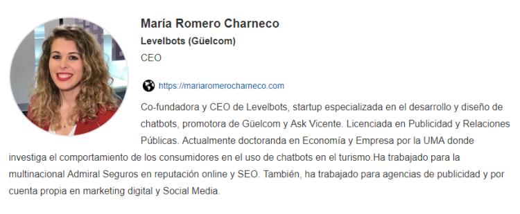 Sevilla Startup Week Maria Romero