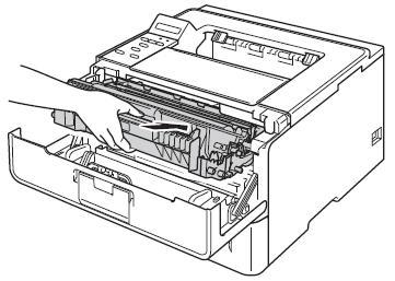 Reset printer drum or laser toner Brother DR720, TN750, or