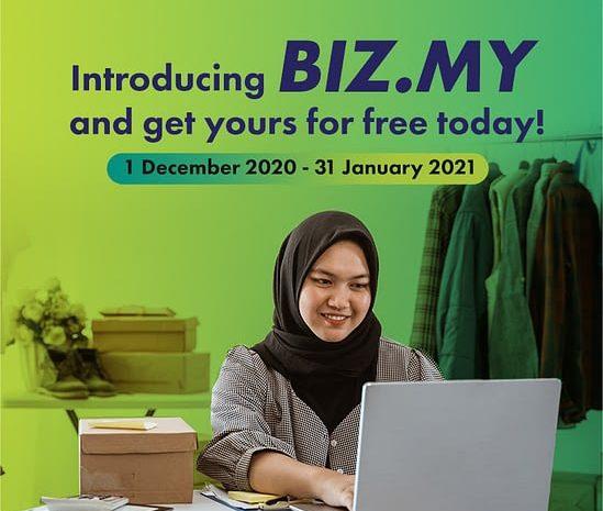 FREE .biz.my Domain! How to Apply?