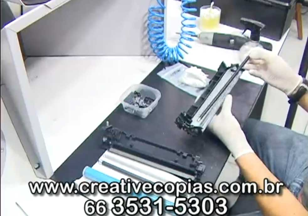 PCR do toner CE285A