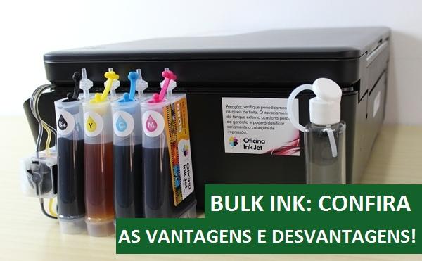 Impressora com Bulk Ink