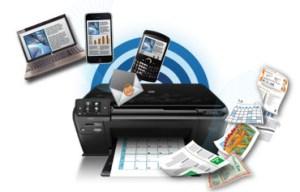 imprimir documentos via wifi