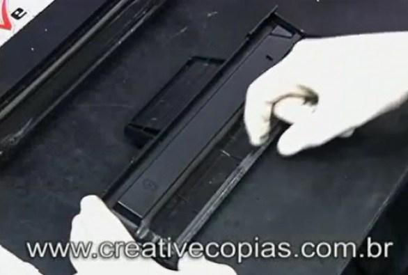 Lâmina coletora Recarga cartucho de Toner D-104