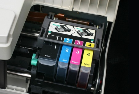 cartuchos impressora a jato de tinta