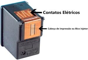 contatos eletricos cartucho de tintas