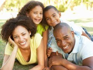 dia das crianças entre pais e filhos