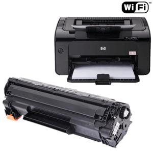 Impressoras com WiFi - p1102 e toner
