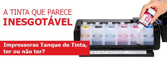 Impressoras tanque de tinta: ter ou não ter?