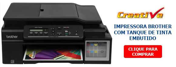 Linha Brother: impressora tanque de tinta