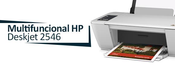Multifuncional HP Deskjet 2546