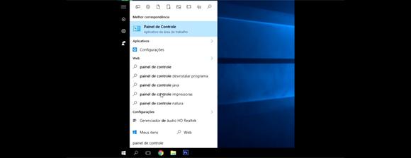 compartilhar impressora na rede com Windows 10 - Painel de Controle
