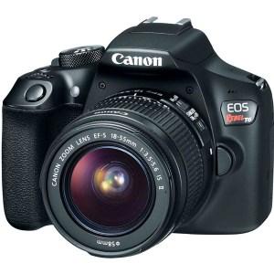 Câmera Digital Profissional Canon EOS Rebel T6 18mp