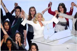 Lady Gaga na 88ª premiação do Oscar