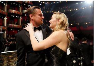 Leonardo DiCaprio e Kate Winslet