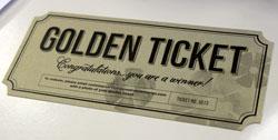 Creative Memories Golden Ticket