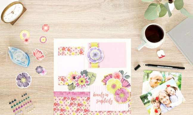 3-Spring-Scrapbook-Layouts-Getting-Creative-with-the-Full-Bloom-Collection