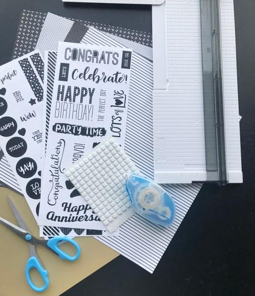 Black-White-Birthday-Scrapbook-Layout-Creative-Memories1