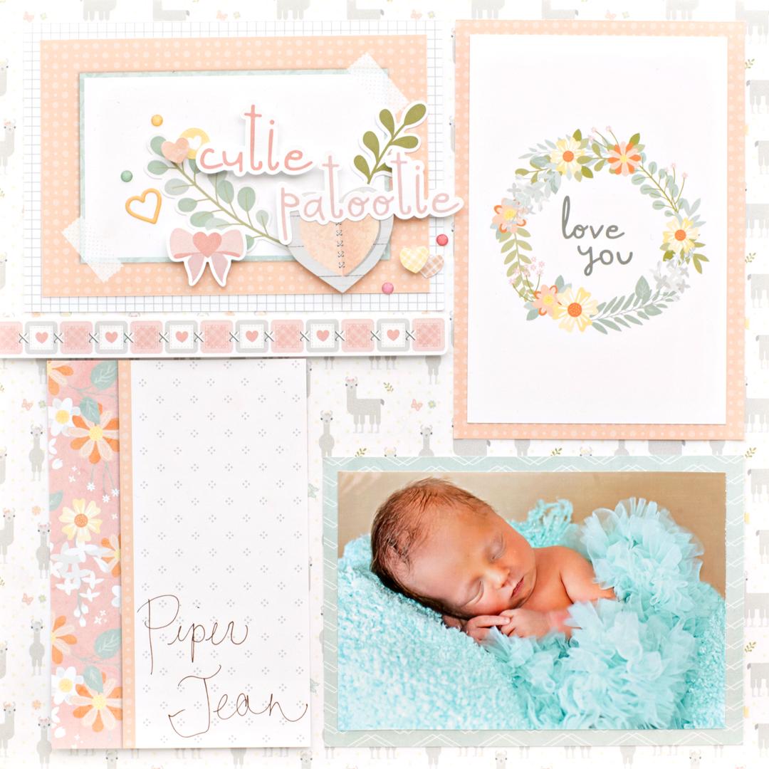 Little-Lamb-Baby-Girl-Mat-Pack-Layout-Creative-Memories5