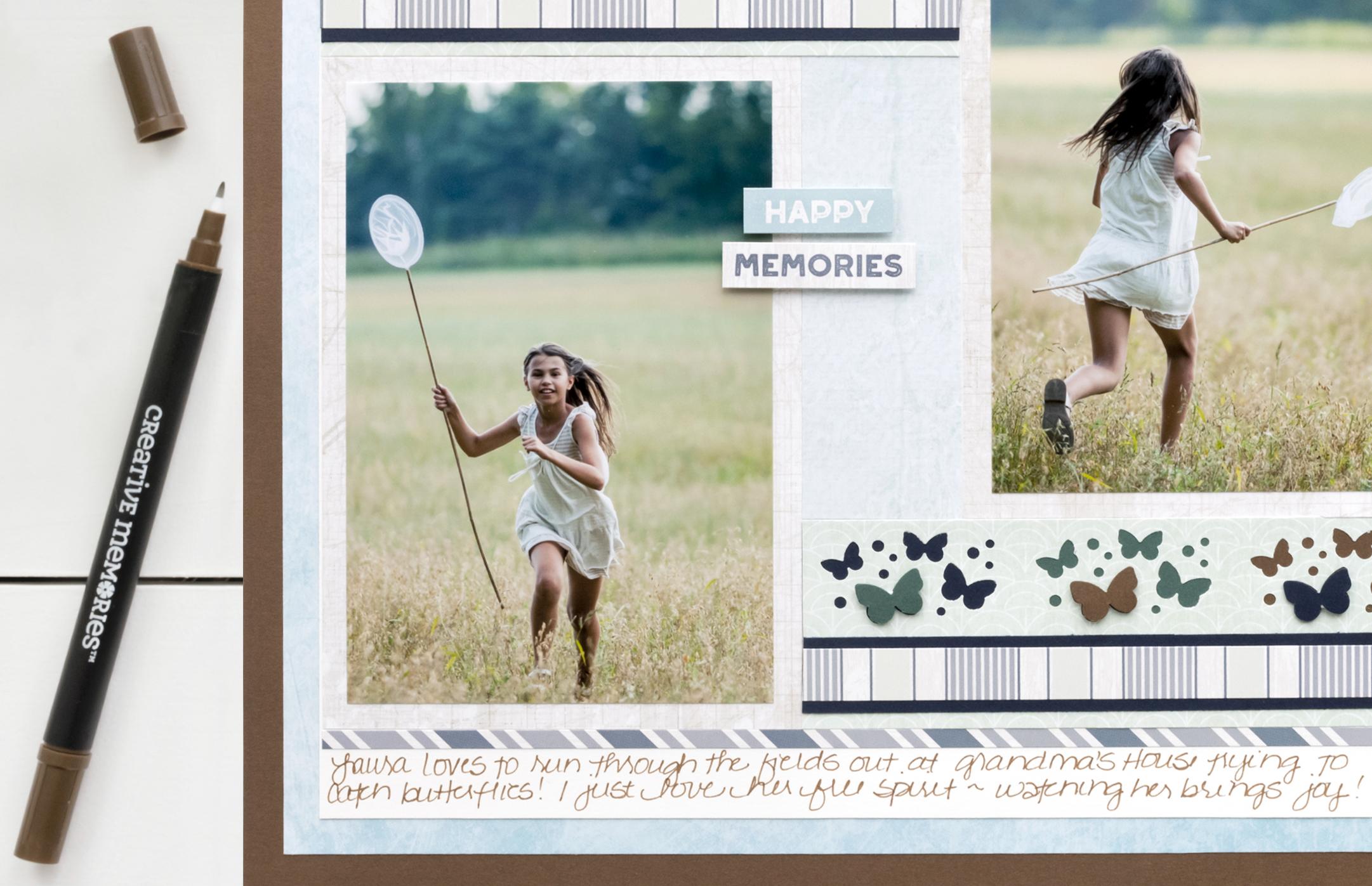 Maritime-Butterflies-Border-Maker-Cartridge-Scrapbook-Layout-Journal-Creative-Memories