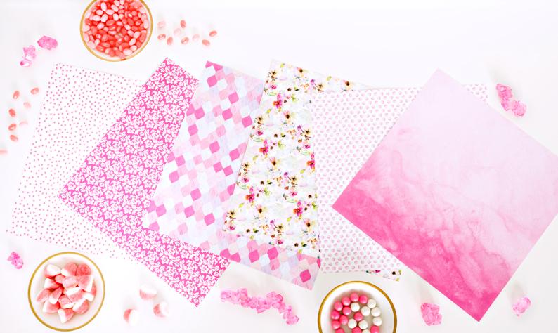 Mix-Match-Pink-Flower-Scrapbook-Layout-Creative-Memories9