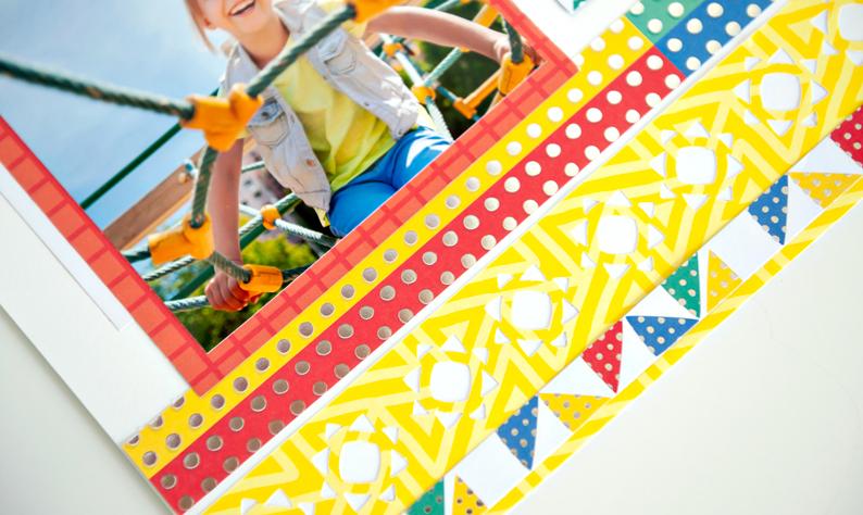 Essentials-Foil-Paper-Sunshine-Border-Maker-Cardtridge-Scrapbook-Layout-Creative-Memories3