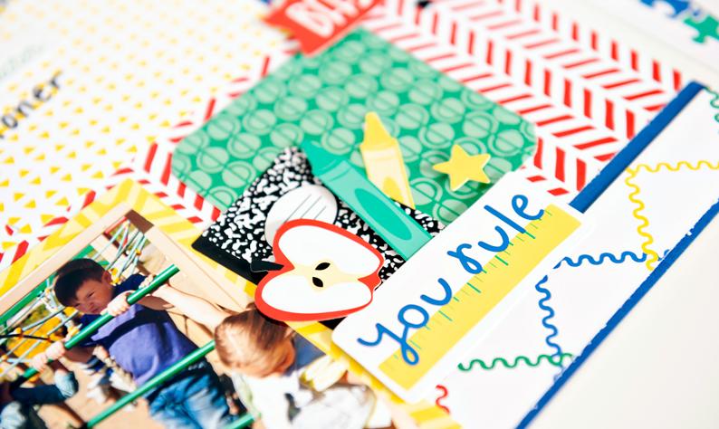 Essentials-School-Scrapbook-Layout-Creative-Memories3