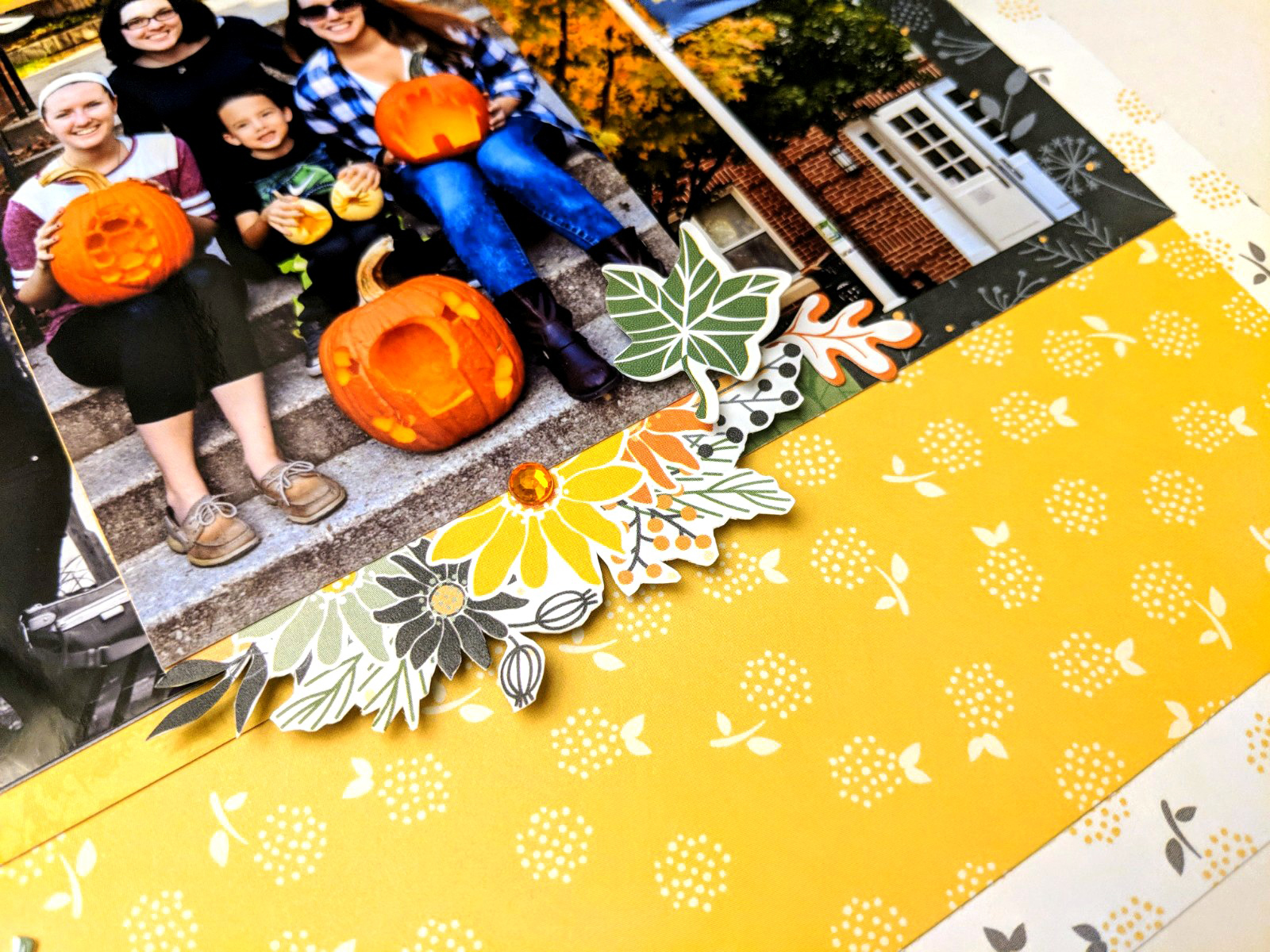 Gather-Together-Scrapbook-Layout-Process4Creative-Memories