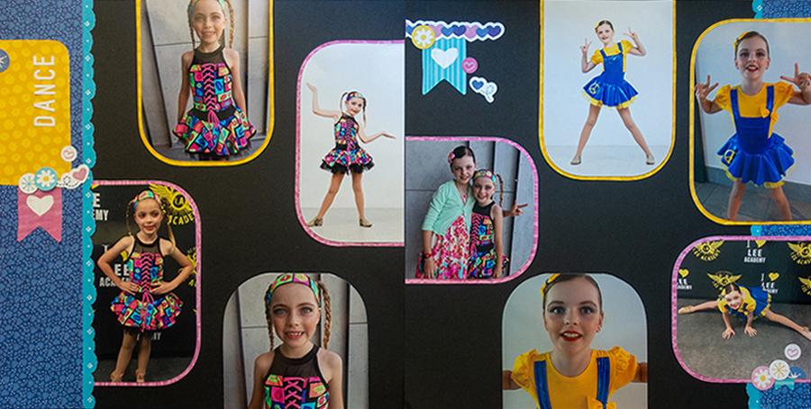 dsc012Best-in-Show-Dance-Scrapbook-Layout-Creative-Memories