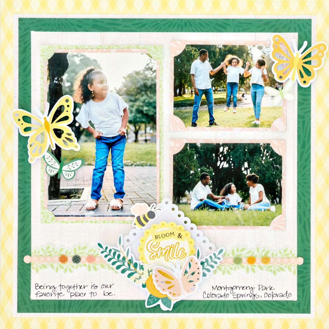 Simply-Sunshine-Scrapbook-Layout-Creative-Memories1