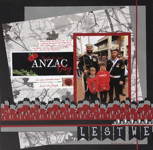 Anzac-Day-Scrapbook-Layout-Left-Creative-Memories