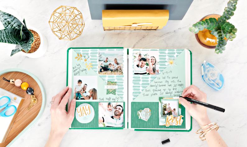 Happy-Album-Kit-18-Scrapbook-Kit-Supplies-Creative-Memories