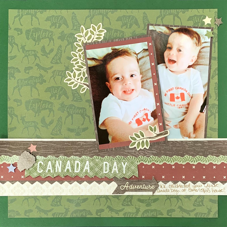 Canada-Day-Scrapbook-Layout-Creative-Memories