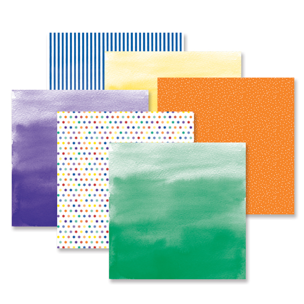 Cheerful Paper Pack