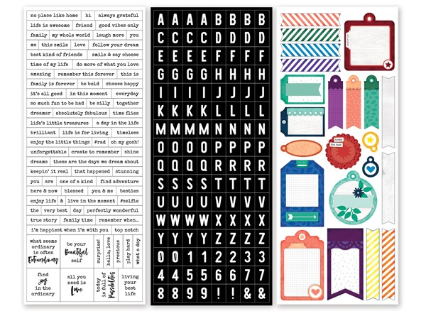 Word & Tag Stickers