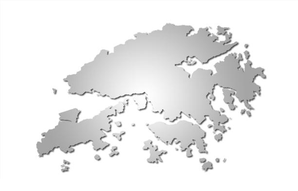 HK simple map