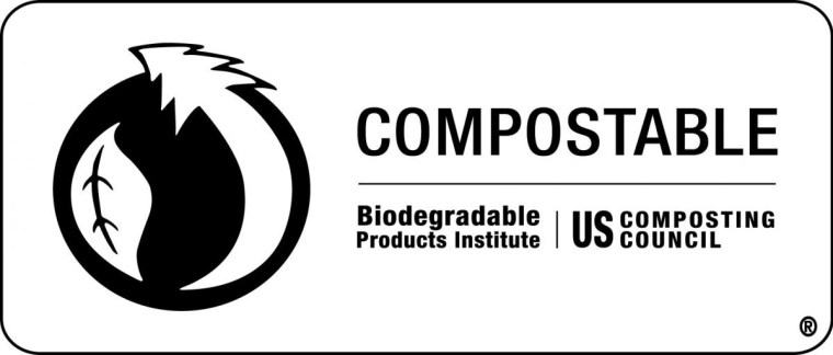 Compostable Biodegradable Products Institute US Composting Council logo