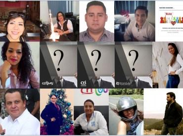 Ines Aragon, Adriana Manteca, Monica Sanchez, Marco Galvan, Darwin Leon, Paulina Nuñez, Harry Grappa, Jorge Grappa, Leysie Carmona