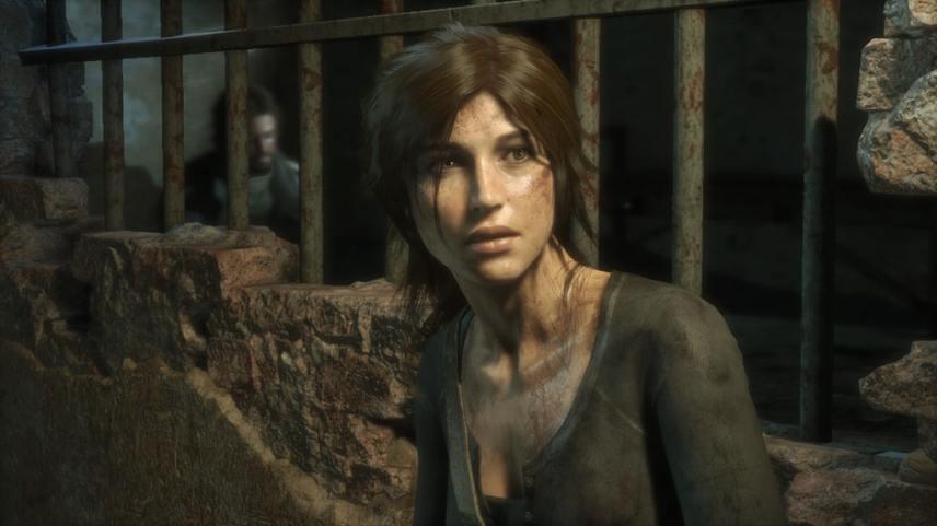 Lara Croft et Jonah dans Rise of the Tomb Raider