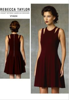 Party Dress Sewing Pattern - Vogue v1424