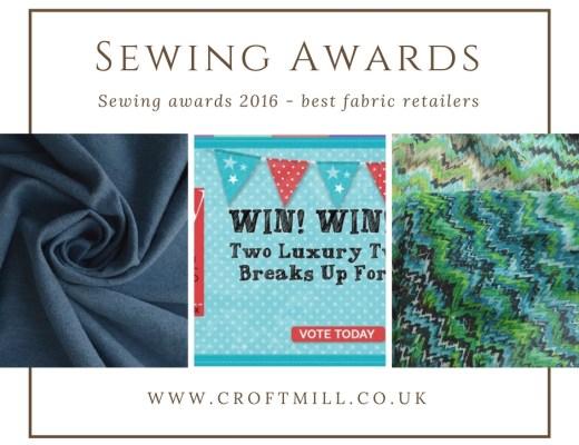 2016 sewing awards