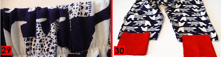 sewing flannel pyjamas