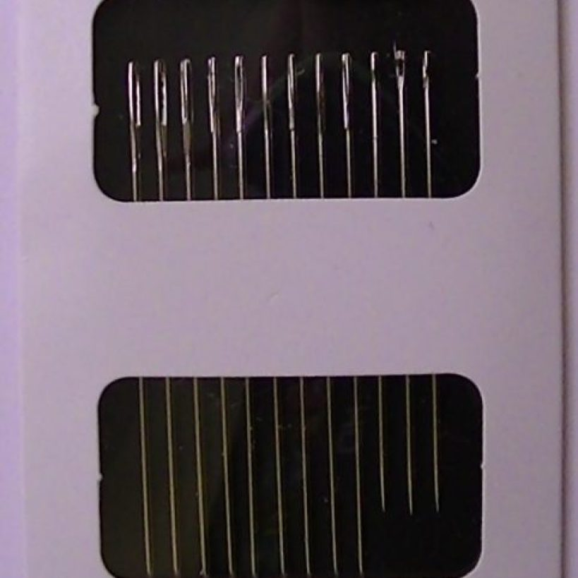 Pack of handsewing needles