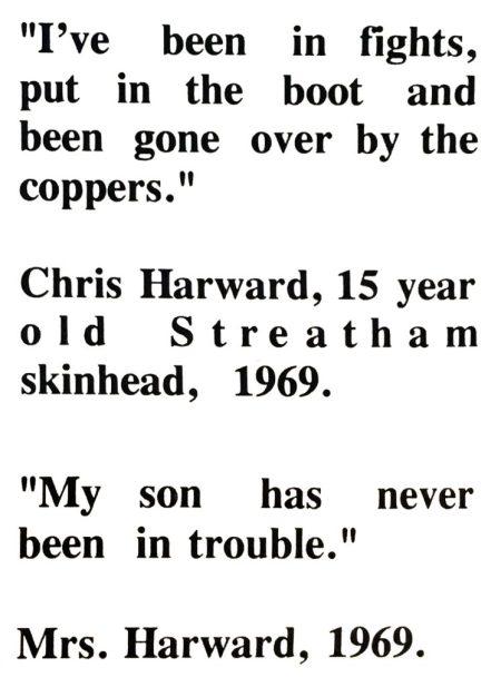 Intervista con lo skinhead original Chris Harward