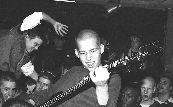 Hardcore skinhead: Todd Youth